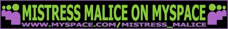 The Official Myspace Page Of Mistress Malice