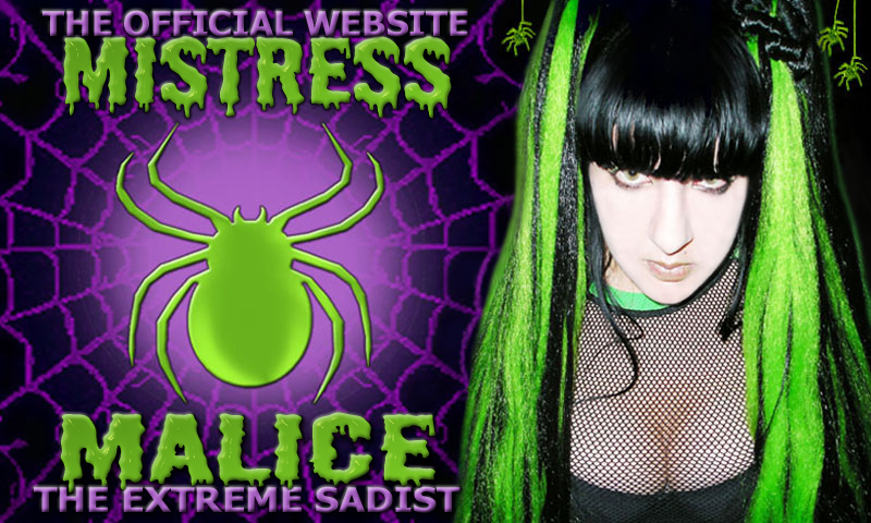 The Official Website Of Mistress Malice
